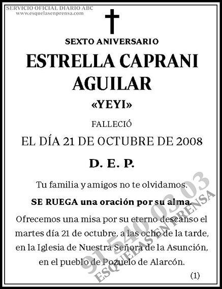Estrella Caprani Aguilar